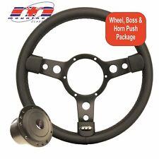 "Steering Wheel 13"" Black Centre ,Vinyl to fit Ford Capri (ALL )"