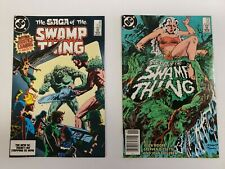 SWAMP THING #24 & #25 (MAY 1984) DC. TWO ISSUE LOT. HIGH GRADE