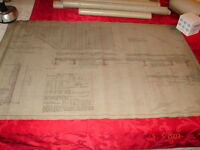 LVRR - CRR of NJ Bridge # 156/53 Solomons Gap, Pa Plan of Floor & Masonry 1927