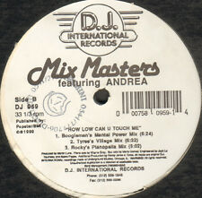 MIX MASTERS - How Low Can U Touch Me? - D.J. International - DJ 959 - Usa