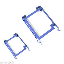 2x DELL HARD DRIVE TRAY 3.5 INCH Precision T7400 T7500 KM503 Genuine Original