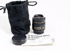 Nikon Nikkor 10.5mm f/2.8G ED AF DX Fisheye Lens D50 D70 D80 D90 D300s D7000