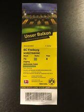 2016/17 – BVB 09 Borussia Dortmund / SC Freiburg – Eintrittskarte Sammlerticket