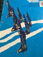 Vintage 1975 Cecil Field Air Show Booklet Program Military Patriotic