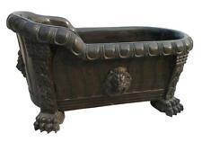 BEAUTIFUL HAND CARVED MARBLE LION DESIGNER BATH TUB - TUB 68