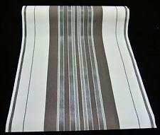 """5749-47-4) 4 Rollen hochwertige Vliestapeten """"GRACE"""" schickes Streifen Design"""