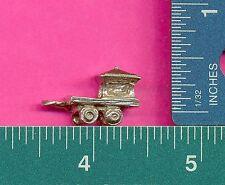 12 wholesale pewter caboose train car figurines A1024