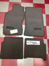 1995-2004 TACOMA XTRA CAB CARPET FLOOR  MATS-LIGHT CHARCOAL GRAY-GENUINE TOYOTA