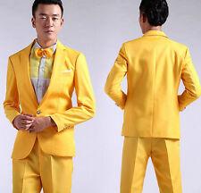 Hot Mens Bling Sequins Tuxedo SUIT & PANTS Gangnam Style Psy Jacket Costume Coat