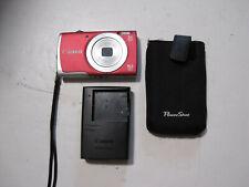 Canon PowerShot A2600 16.0MP Digital Camera - Red