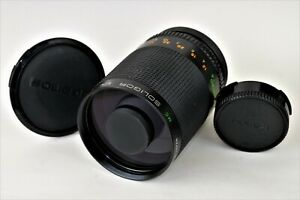 SOLIGOR MC 500mm 1:8 8 - Mirror Lens Spiegel Objektiv - Canon FD
