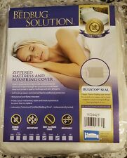 """The BEDBUG SOLUTION "" 9"" Deep CAL. KING Zippered Mattress & Boxspring Cover"