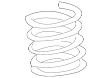 Genuine GM Coil Spring 21018789