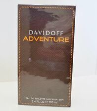 ADVENTURE By DAVIDOFF 3.4 3.3 oz 100 ml Men Cologne EDT Spray NEW IN BOX