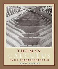 Thomas' Calculus, Early Transcendentals, Media Upgrade, Part One (11th Edition)