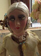 Stunning Antique Galeries Lafayette Ltd Boudoir Doll