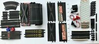 LARGE SCALEXTRIC SPECIALIST BUNDLE OF VINTAGE TRACK SECTIONS  1960'S