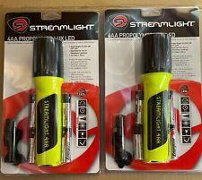 Lot of 2 New Streamlight 68244 ProPolymer 4AA Flashlights Free Shipping