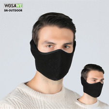 Motorcycle Half Face Shield Cycling Bike Mouth Cover Winter Ear Nose Warmer