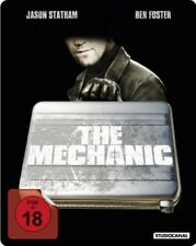 THE MECHANIC (Jason Statham, Ben Foster) Blu-ray Disc, Steelbook NEU+OVP