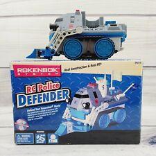 Rokenbok System Vehicle RC POLICE DEFENDER D-54 04215 Ages 6+