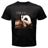 CREED My Own Prison Logo Men's Black T-shirt Size S M L XL 2XL 3XL