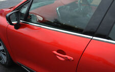 PORTA LATERALE CROMO Window Sill Copertine Trim Set Per Adattarsi Renault Clio IV (2012+)