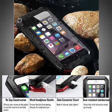Apple iphone 6 + 6s plus heavy duty cover metal waterproof aluminuim case tough
