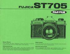 Fuji Fujica ST705 Instruction Manual original multi-language