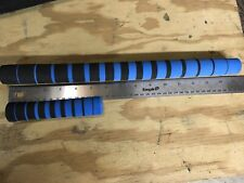 Fishing Rod Building Eva Grips Shaded Black To Blue. 16� Handle 5� Fore grip