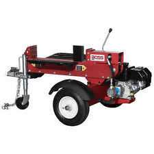 Boss Industrial 16-Ton Horizontal Dual-Action Gas Log Splitter