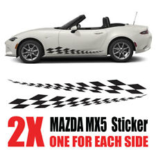 Mazda MX5 Graphics Eunos Roadster mk1 mk2  stripes Decals Stickers mz11