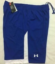 NEW WITH TAGS MEN'S UNDER ARMOUR BASKETBALL / TRAINING SHORT  - BLUE 400 -XXL