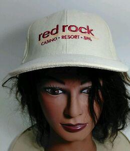 Red Rock Casino Resort Spa Khaki Baseball Cap Hat