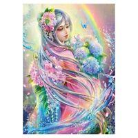 Diy 5D Diamant Malerei Kreuzstich von Diamant-Stickerei die Blume Elfen Dian Dia