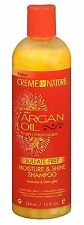 Creme of Nature Moisture - Shine Shampoo With Argan Oil, 12 oz (2 pack)