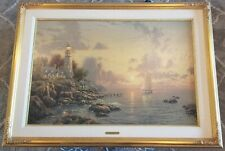 Thomas Kinkade Sea of Tranquility 24x36 Renaissance Edition on canvas
