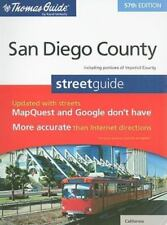 The Thomas Guide San Diego County Street Guide Thomas Guide San Diego County In