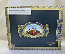 POR LARRANAGA TORO NAVY WOOD CIGAR BOX - NICE!