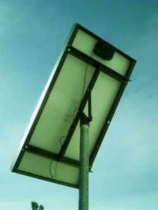 Solar Panel Top of Pole Rack Mount Support Manual Tilt PV Photovoltaic