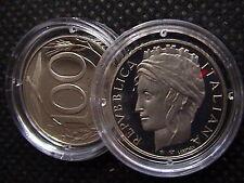 1999 ITALIA 100 LIRE TURRITA FONDO A SPECCHIO PROOF PROVENIENTE DA SET UFFICIALE