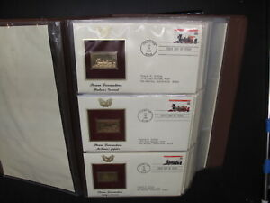 US GOLDEN Replica FDC Collection In Binder 35 Covers 1990's