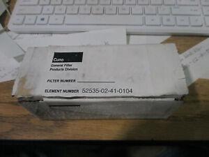 Cuno servo block filter # 52535-02-41-0104