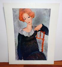 Reclining Fine by Italian Amedeo Modigliani Art Repro choose Canvas or Paper