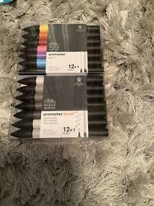 Brand New Sealed Winsor & Newton Pro Marker, Set A