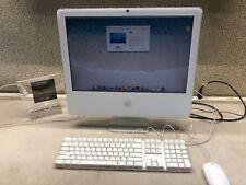 """Apple iMac 20"""" Desktop - (2006)~2.16GHZ CORE 2~4GB~250HD~10.7~FREE SHIP"""