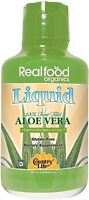 Real Food Organics Basic Aloe Vera Liquid by Country Life, 32 oz