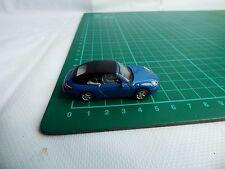 HONGWELL CARARAMA Porsche 911 Blue Convertible CABRIOLET 1:72 Diecast Toy Car