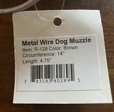 Metal wire Dog Muzzle