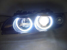 4 OEM XENON Model 01-03 BMW E39 D2S WHITE LED ANGEL HALO HEADLIGHT + AUTO-LEVEL